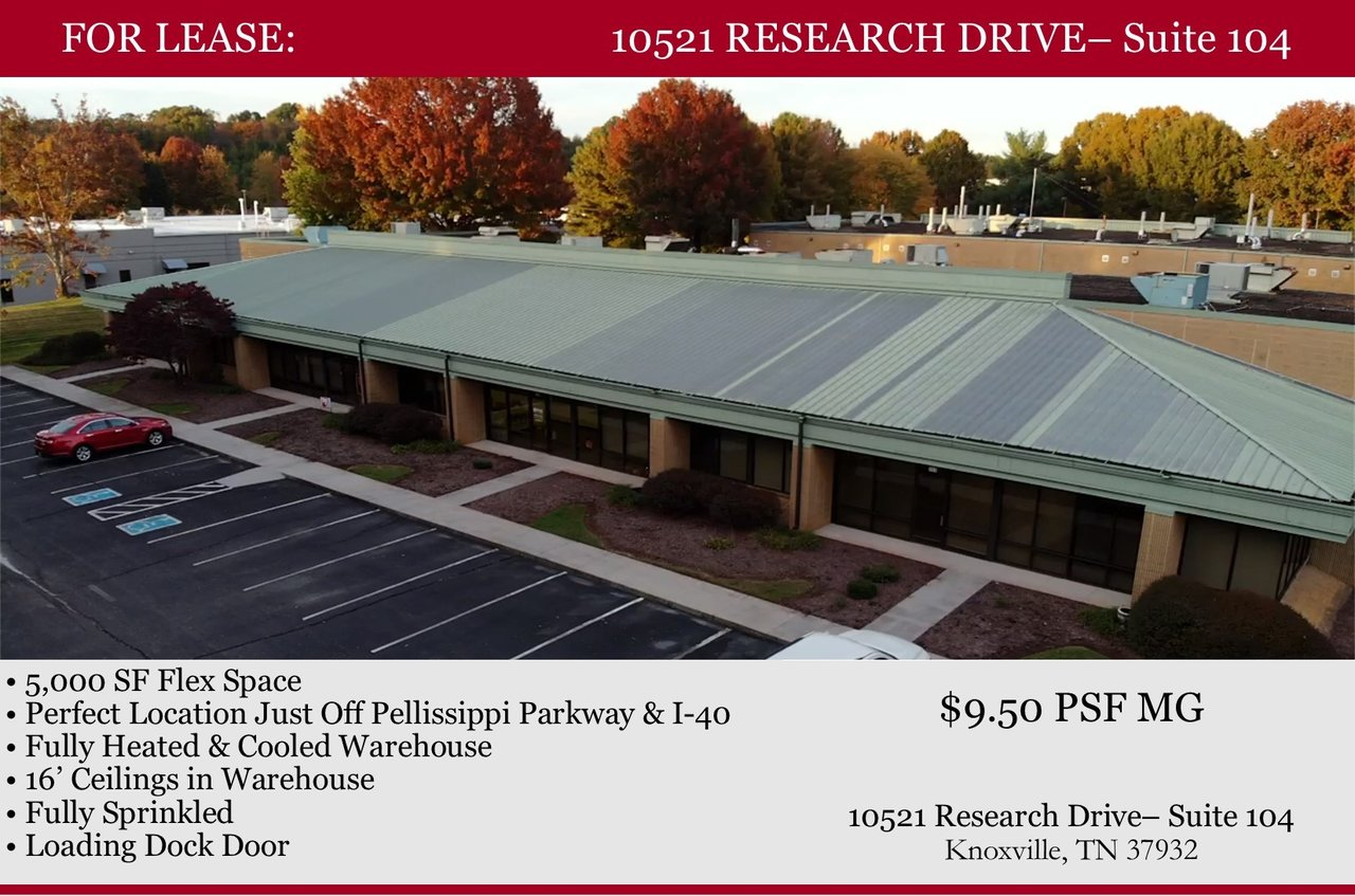 10521 Research Dr, Knoxville, TN, 37932