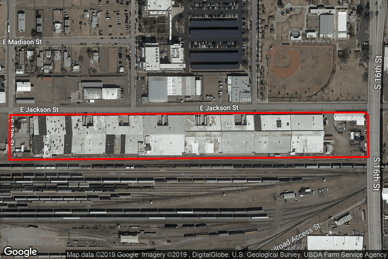 1301-1555 E Jackson St, Phoenix, AZ, 85034
