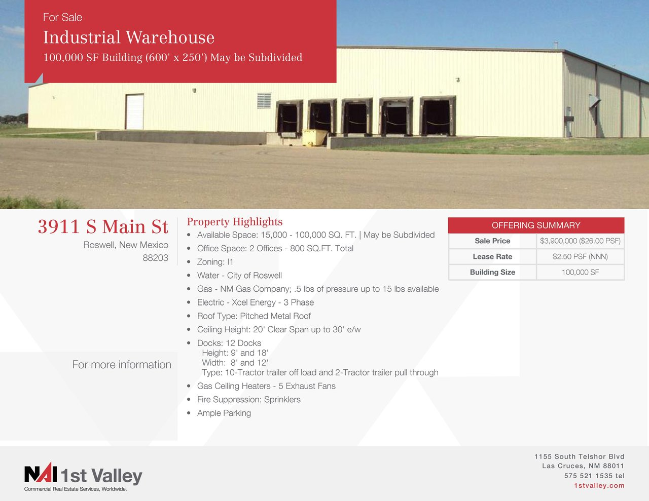 3911 S Main St, Roswell, NM, 88203