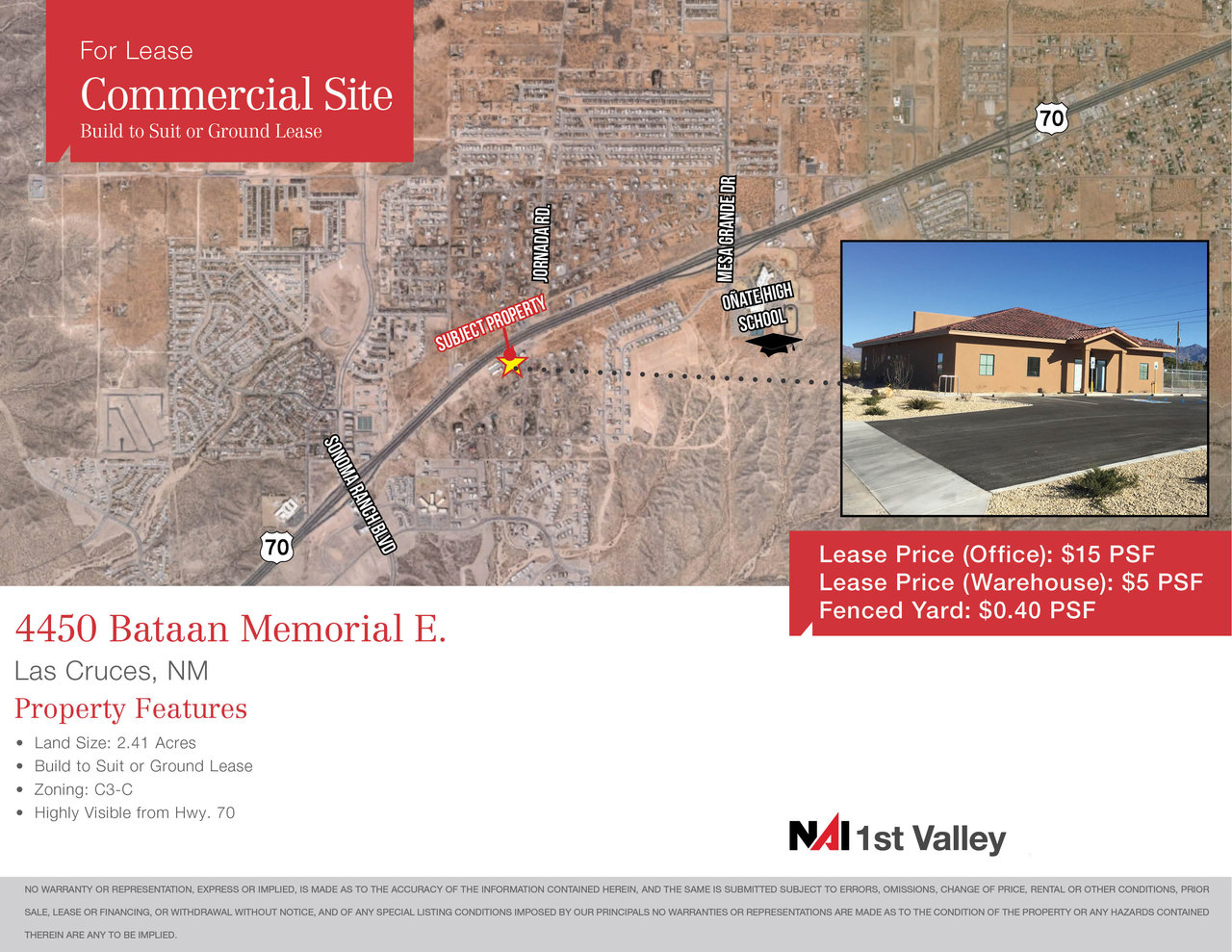 4450 Bataan Memorial, Las Cruces, NM, 88011