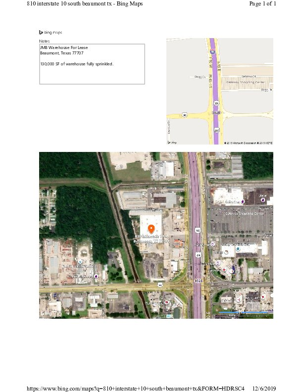 810 I-10 S, Beaumont, TX, 77707