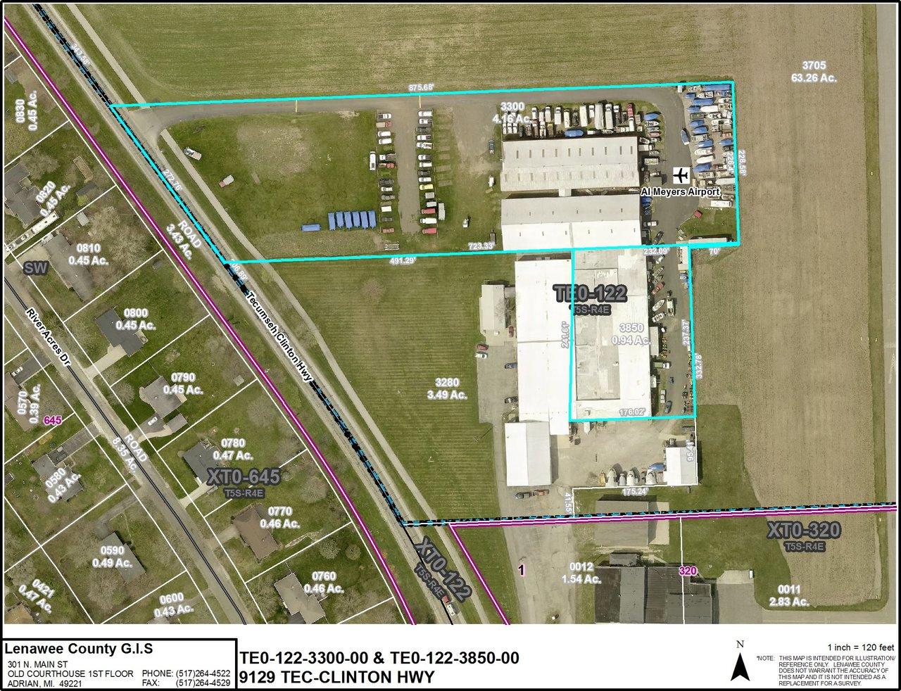 9129 Tecumseh Clinton Hwy, Tecumseh, MI, 49286